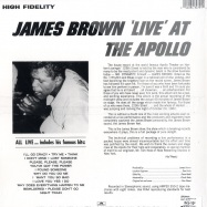 LIVE AT THE APOLLO (LP)