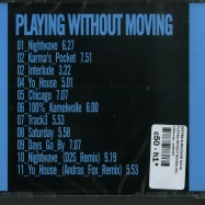 PLAYING WITHOUT MOVING (CD)
