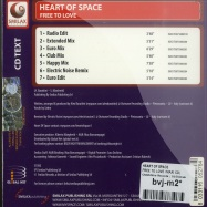 FREE TO LOVE (MAXI CD)