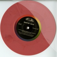 5 PIECE CHICKEN DINNER / LOOKING DOWN THE BARREL OF A GUN (PINK MARBLED 7 INCH)