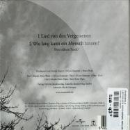LIED VON DEN VERGESSENEN - WIE LANG KANN EIN MENSCH TANZEN (CD + POSTER)