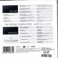 SENSATION AUSTRALIA 2009 (CD+DVD)