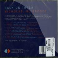 NICHOLAS: NU GROOVE - BACK ON TRACK (CD)
