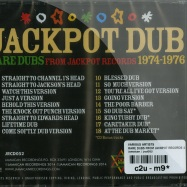 RARE DUBS FROM JACKPOT RECORDS 1974 - 1976 (CD)