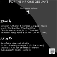 FOR THE NR ONE DEE JAYS