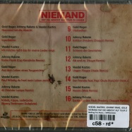 NIEMAND HAT DIE ABSICHT AUF TOUR ZU GEHEN (CD)