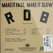 MAKE IT FAST, MAKE IT SLOW (CD)