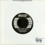 FOR DANCE / YOU NEVER CHANGE (7 INCH)