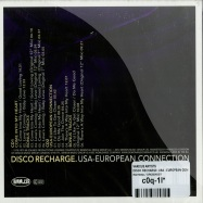 DISCO RECHARGE: USA - EUROPEAN CONNECTION (2CD)