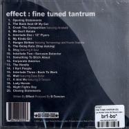 FINE TUNED TANTRUM (CD)