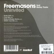 UNINVITED (CD SINGLE)
