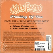 THINKING OF YOU (2Track-CD)