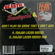 DONT PLAY NO GAME HAT I CANT WIN (7 INCH YELLOW VINYL)