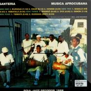 SANTERIA - SONGS FOR THE ORISHAS (2X12 LP)