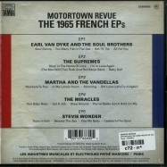 MOTORTOWN REVUE: THE 1965 FRENCH EPS (5X7 INCH + MP3)