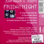 FRIDAY NIGHT (MAXI CD)
