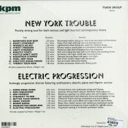 KPM - NEW YORK TROUBLE - ELECTRIC PROGRESSION (LP, 180 G VINYL)