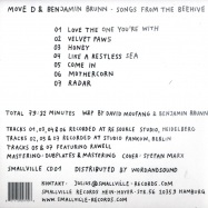 SONGS FROM THE BEEHIVE (CD)
