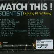 WATCH THIS DUBBING AT TUFF GONG (CD)