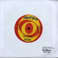 THATS MY GIRL / BLUES IN THE NIGHT (7 INCH)
