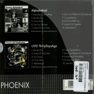 COFFRET ALPHABETICAL & PHOENIX LIVE! THIRTY DAYS AGO (2XCD)
