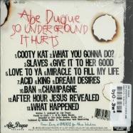 SO UNDERGROUND IT HURTS (CD)