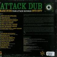 ATTACK DUB: RARE DUBS (LP)