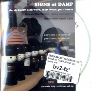 SIGNS OF DAMP (3INCH CD)