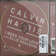I NEED YOUR LOVE (2-TRACK-MAXI-CD)