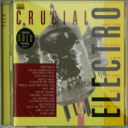 CRUCIAL ELECTRO 4 (2XCD UNMIXED) (LIMITED GOLD EDITION)