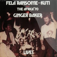 FELA WITH GINGER BAKER LIVE (LP)