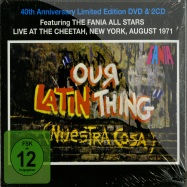 OUR LATIN THING - 40TH ANNIVERSARY LTD EDITION DVD & 2CD