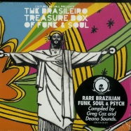 BRASILEIRO TREASURE BOX OF FUNK & SOUL (CD)