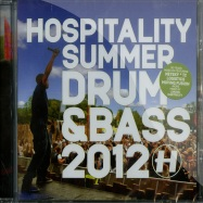 HOSPITALITY SUMMER DRUM & BASS 2012 (CD)