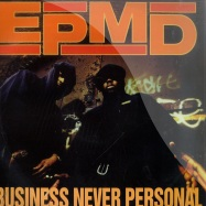 BUSINESS NEVER PERSONAL (2X12 INCH LP)