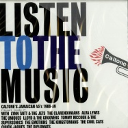 LISTEN TO THE MUSIC (CD)