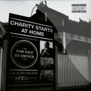 CHARITY STARTS AT HOME (CLEAR RED 2X12 LP)