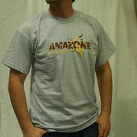 Amazone Records Logo Shirt (Grey)