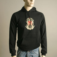 Alexander Robotnick Hooded Sweater (Black)