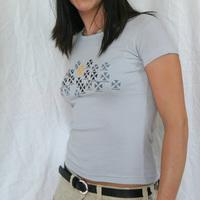 Girl Axis Start Shirt (Silver)