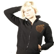 Woman Zip up Kings Of The Jungle (Black)