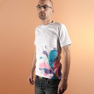 Man-Shirt Multiply Splash / Limited Edition Fluo INK