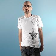 Man-Shirt Galaktika Boomers (white)