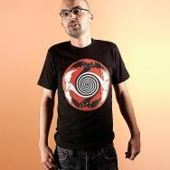 Kittin Batbox shirt (Organic Cotton / Black)
