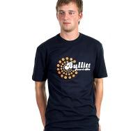 Bullit Records Logo Shirt (Navy)