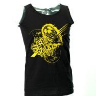 Serial Killaz Tanktop (Black/ Yellow Print)