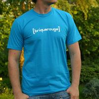 Brique Rouge Logoshirt (Bright Blue / Teal)