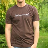 Brique Rouge Logoshirt (Chocolate)
