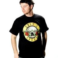 Guns N Roses Logo Shirt (Black)