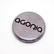 Agoria Button (Silver)